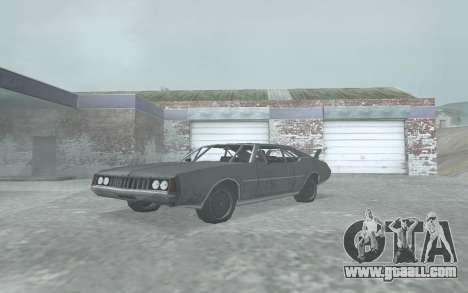 Clover Stock Car for GTA San Andreas