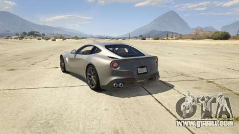 Ferrari F12 Berlinetta 2013 for GTA 5