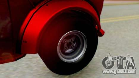 Mini Miglia for GTA San Andreas back left view
