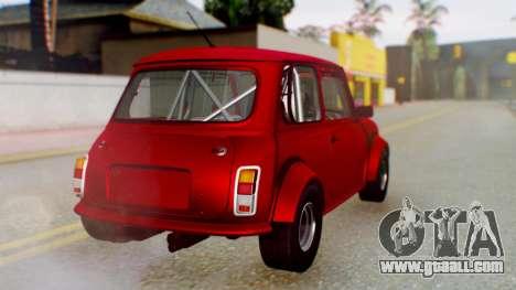 Mini Miglia for GTA San Andreas left view