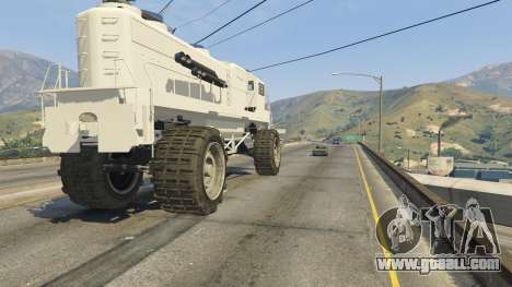 Monster Train for GTA 5