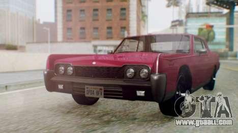GTA 5 Vapid Chino Tunable PJ for GTA San Andreas