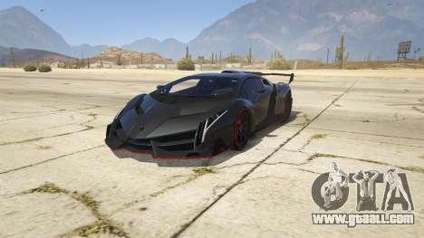 2013 Lamborghini Veneno HQ EDITION for GTA 5