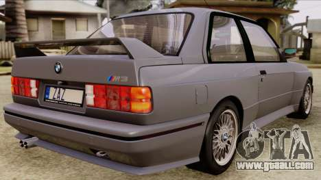 BMW M3 E30 1991 Stock for GTA San Andreas left view