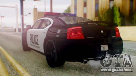 New Police SF for GTA San Andreas left view