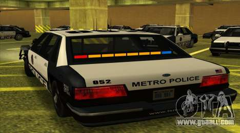Police SF for GTA San Andreas left view