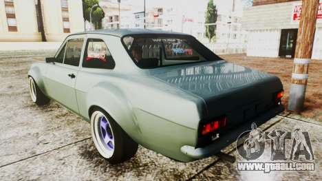 Ford Escort Mk1 for GTA San Andreas left view
