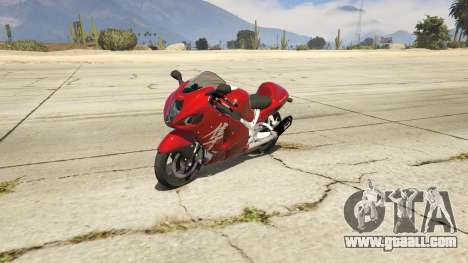 Suzuki GSX1300R Hayabusa for GTA 5