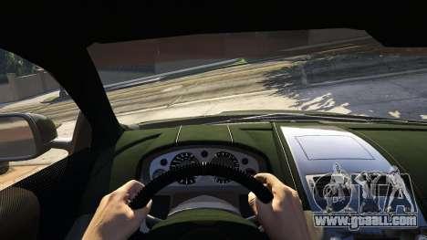 GTA 5 Aston Martin DBS back view