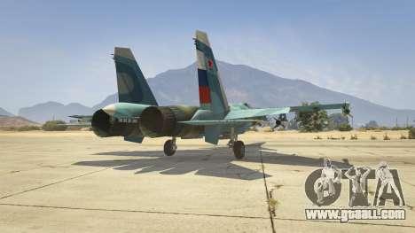 GTA 5 Su-33 sixth screenshot