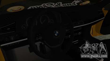 BMW 750Li M Sport for GTA San Andreas right view