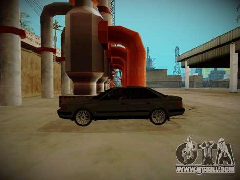 Audi 100 C4 Belarus Edition for GTA San Andreas left view