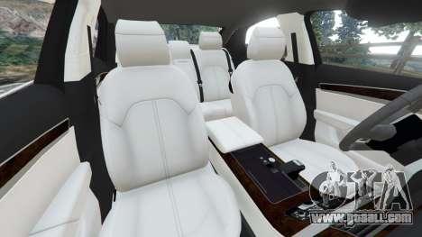 GTA 5 Audi S8 Quattro 2013 v1.2 right side view
