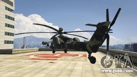 Mi-28 Night hunter for GTA 5