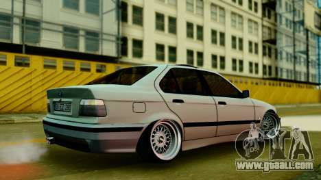 BMW 320 E36 for GTA San Andreas left view