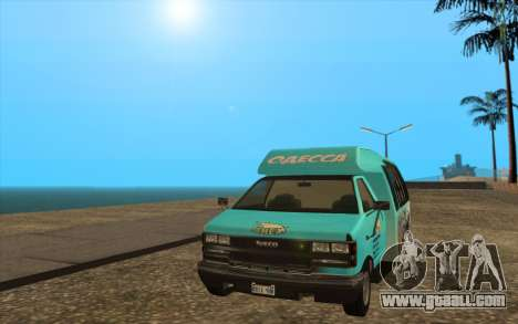 Iveco Custom Odessa for GTA San Andreas