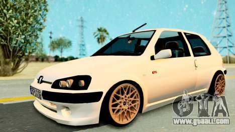 Peugeot 106 Pug for GTA San Andreas