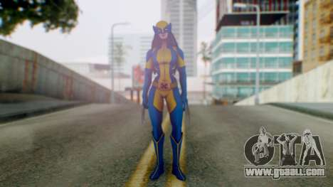 Marvel Heroes X-23 (All new Wolverine) v1 for GTA San Andreas second screenshot
