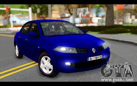 Renault Megane Sedan for GTA San Andreas