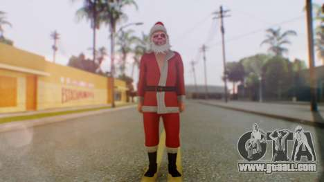 GTA Online Festive Surprise Skin 2 for GTA San Andreas second screenshot