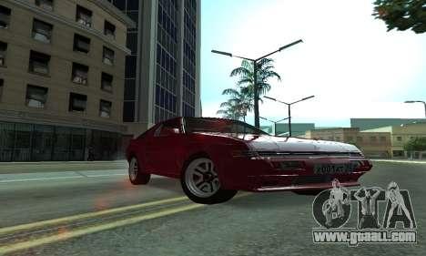 Mitsubishi Starion ECI-R for GTA San Andreas bottom view