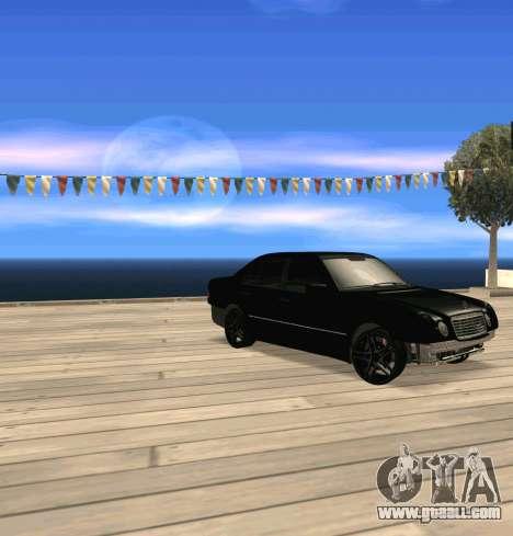 Mercedes Benz E-Class for GTA San Andreas
