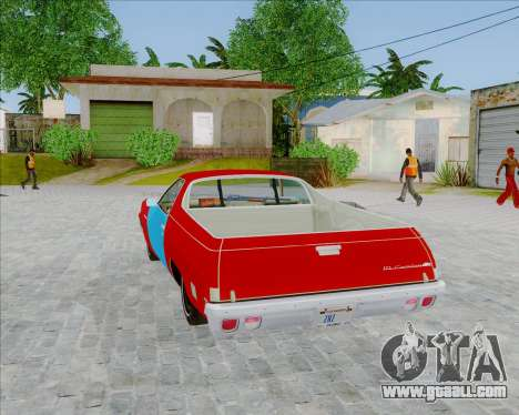 Chevrolet El Camino My Name is Earl v1.0 for GTA San Andreas left view