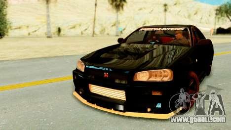 Nissan Skyline GT-R Nismo Tuned for GTA San Andreas