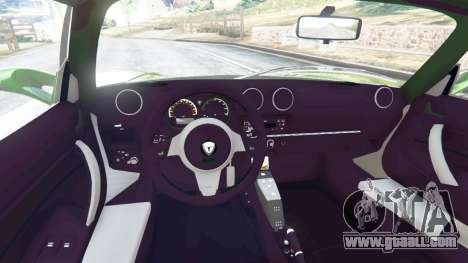 GTA 5 Tesla Roadster Sport 2011 rear right side view