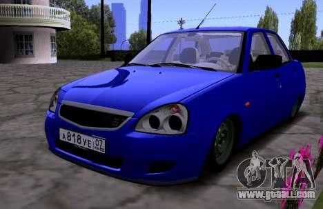 VAZ 2170 KBR for GTA San Andreas