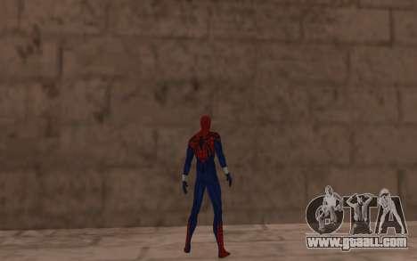 Sensational Spider-Man Ben Reilly by Robinosuke for GTA San Andreas forth screenshot