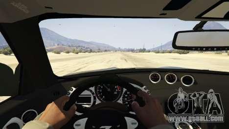 GTA 5 Nissan 370z v2.0 rear right side view
