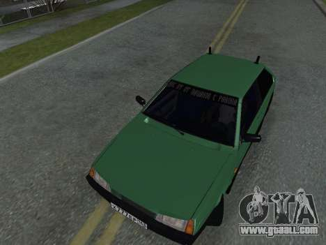 VAZ 2108 for GTA San Andreas side view