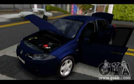 Renault Megane Sedan for GTA San Andreas side view