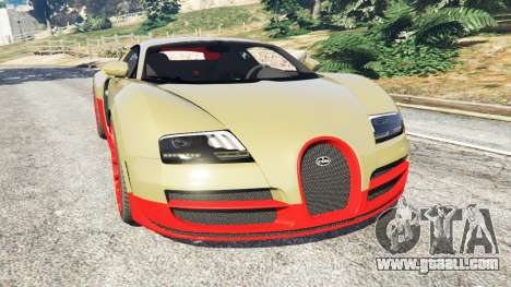 Bugatti Veyron Super Sport for GTA 5
