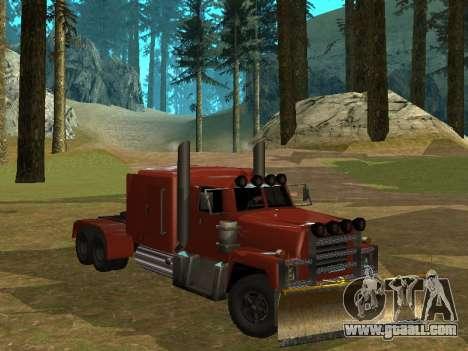Petroltanker v2 for GTA San Andreas left view