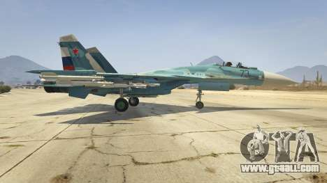 GTA 5 Su-33 second screenshot