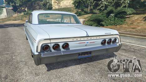 GTA 5 Chevrolet Impala SS 1964 v2.0 rear left side view