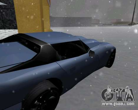 New Banshee with roof for GTA San Andreas back left view