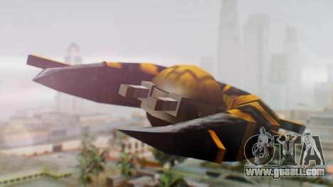 Alien Ship Yellow-Black for GTA San Andreas