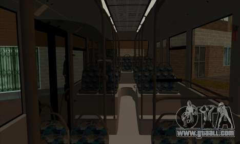 Mercedes-Benz O530 Citaro for GTA San Andreas inner view