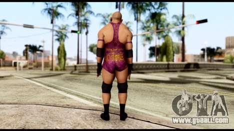 WWE Ryback for GTA San Andreas third screenshot