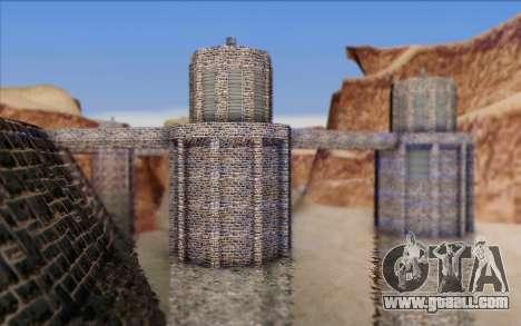 New dam for GTA San Andreas second screenshot