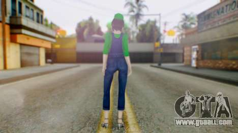Fatal Frame 4 Misaki Luigi Clothes for GTA San Andreas third screenshot