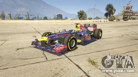 Red Bull F1 v2 redux for GTA 5