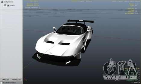 GTA 5 Aston Martin Vulcan v1.0 rear right side view