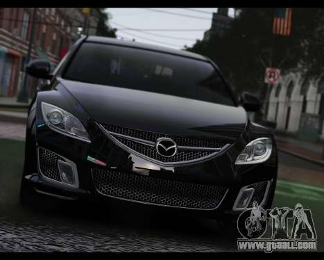 Mazda 6 Sport for GTA 4 back left view