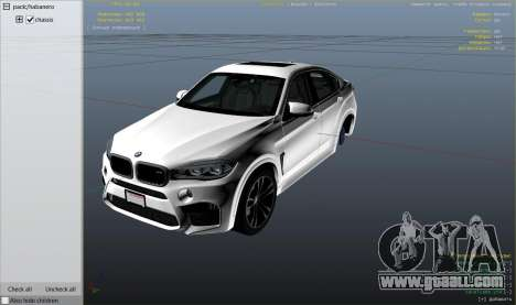 GTA 5 BMW X6M F16 Final wheel