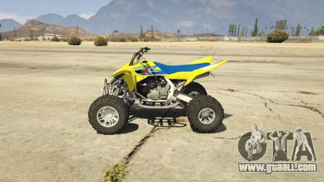 GTA 5 2009 Suzuki LTR 450 left side view