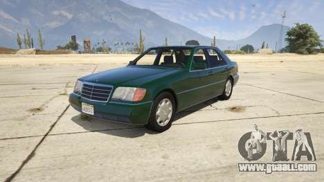 Mercedes-Benz S600 v1.1 for GTA 5